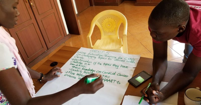 Notes from the Field: Dissemination Meeting for a Community Health Volunteer Study