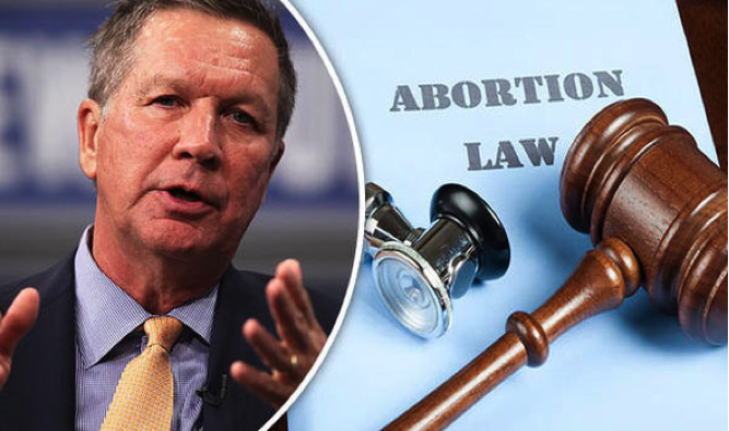 Law meant to limit access to abortion in the Ohio state legislature