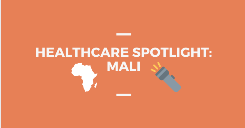 Healthcare in the West African nation of Mali