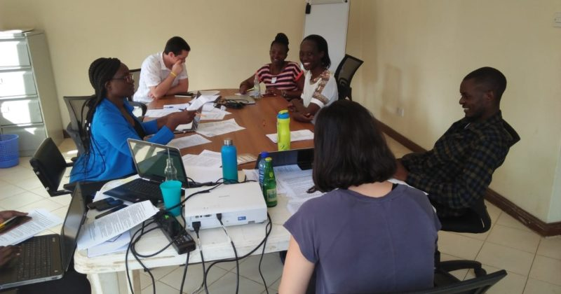 A Qualitative Research Training Session at the Center for Reproductive Health in Kisumu, Kenya