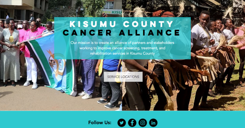 Launch of the Kisumu Cervical Cancer Alliance Website